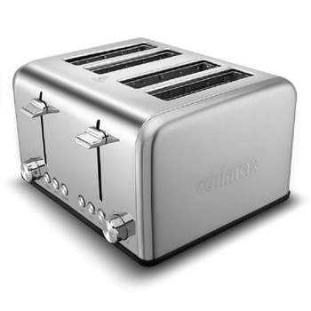 Home Full Automatic Toaster Bakery Toaster 4 Slices Slot Extra Wide Slot Toaster Stainless Steel Bread Toaster for Breakfast 5