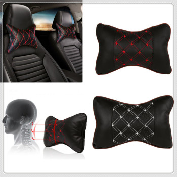 Car Pillow Headrest Seat Head Neck Rest Cushion Pad for BMW M8 M550i M550d M4 M3 M240i M140i 530i 128i i8 Z4 X5 X4 image