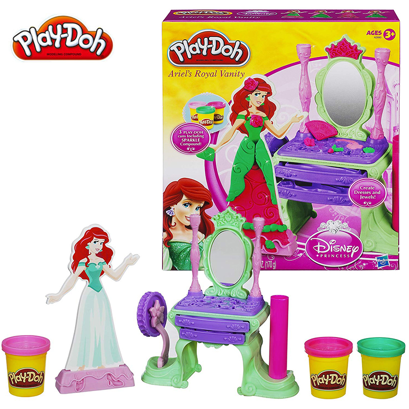 Hasbro Clearance Sale Play Doh Clay Color Mud Princess Play Dough Children DIY Pretend Plasticine Girl Toys Expired-clay