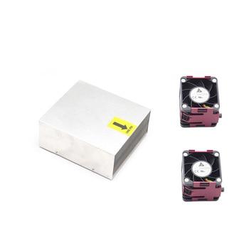 FOR HP Proliant DL380 G6 DL380 G7 Processor Heatsink Cooler 496064-001 469886-001 Cooling fan 496066-001 463172-001 швабра eurotex 080401 001 001 синий