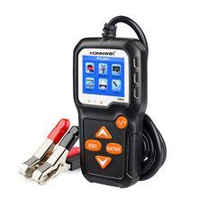 KW650 Batterij Tester 12V 6V Auto Motorfiets Batterij Systeem Analyzer 2000CCA Opladen Zwengelen Quick Opladen Diagnostict
