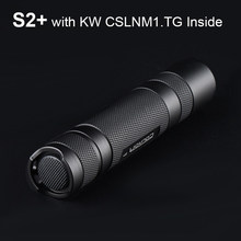Convoy S2 Plus mit KW CSLNM1.TG Led Taschenlampe Flash-Licht 18650 Leistungsstarke Linterna Lange Palette Camping Tragbare Laterne