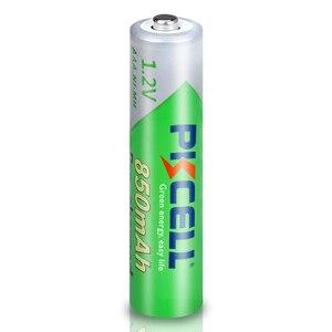 Image 4 - 12PC X PKCELL AAA batterie 850mAh 1,2 v AAA Akku Low selbstentladung Ni Mh Batterien mit 3PC AAA Batterie box fall