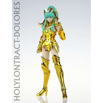 In Stock GT Great Toys Model Saint Seiya Myth Cloth Ex Aries Warrior Female Girl Holy Contrackt Dolores PVC Action Figure 2
