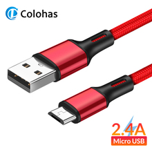 цена на 1m 2m 3m Micro USB Cable Fast Charging For Xiaomi Redmi Note 5 Pro Android Mobile Phone Data Cable for Samsung S7 Micro Charger