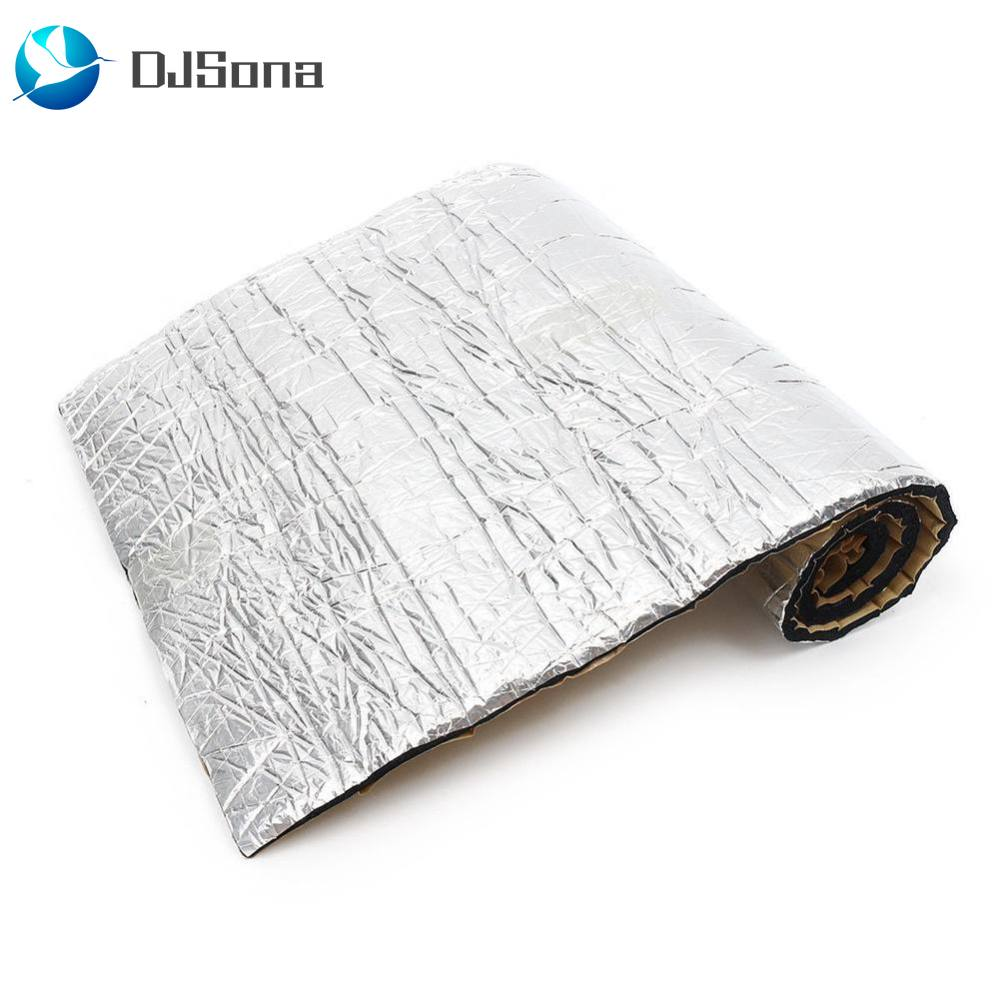 10mm Car Sound Deadener Audio Noise Control Heat Shield Insulation Mat Hood Car Heat Shield Proof Mat Sound Insulation Cotton