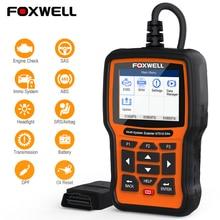 FOXWELL NT510 Elite para Mercedes Benz W211 W204 W220 escáner de diagnóstico OBD OBDII ABS Airbag aceite EPB herramienta de reinicio OBD2 lector de código