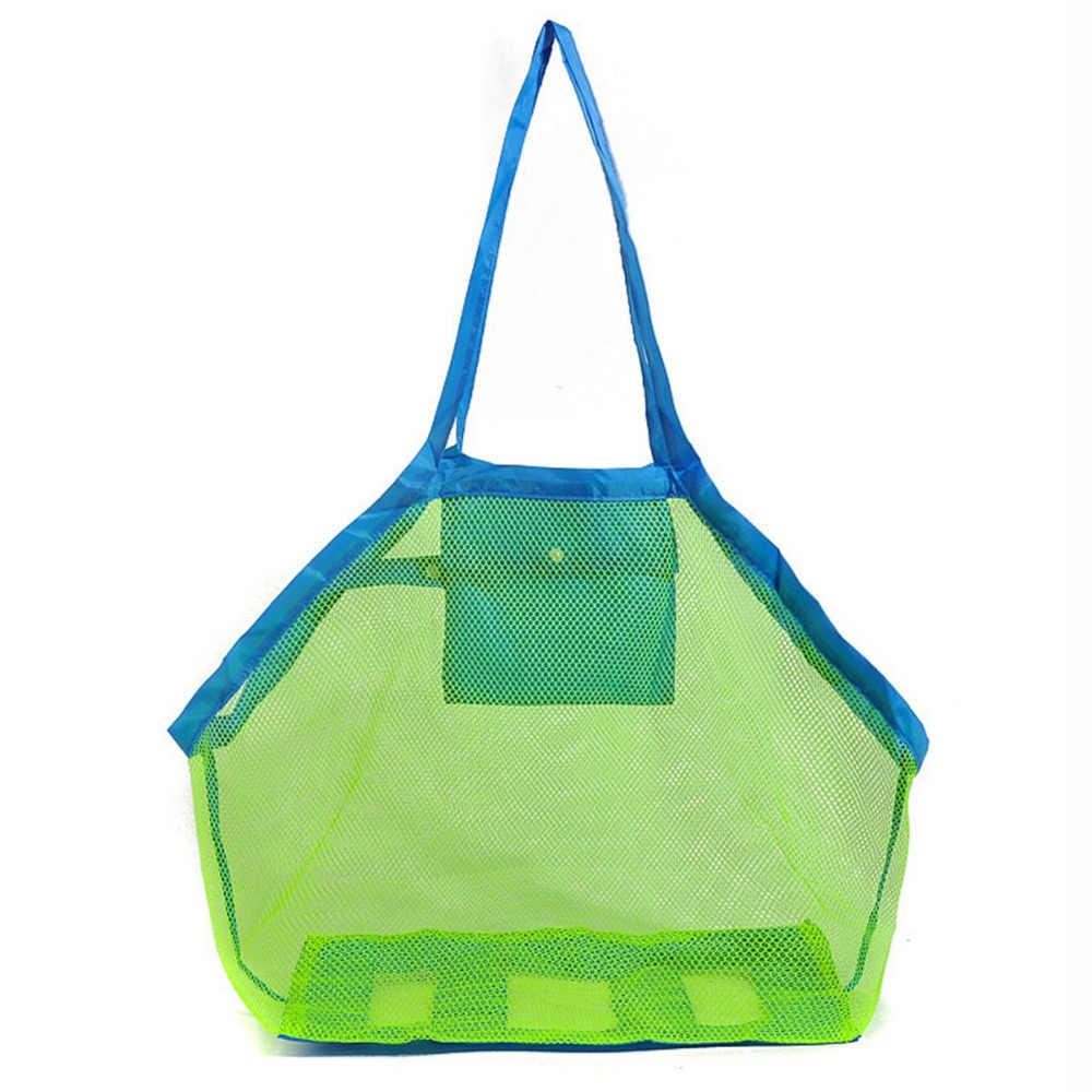 Ciążowe ręcznik dziecko dzieci piasek plaża mesh dla dzieci kryty zabawki pieluchy torby do przechowywania torba trwałe appiled dziecko zszywacze plecak