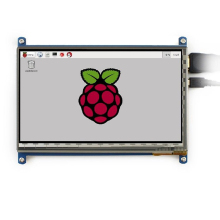 цена на 7 inch Capacitive Touch Screen LCD Display IPS 1024x600 HDMI For Raspberry Pi