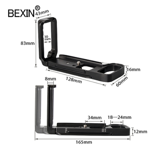 Image 4 - BEXIN Camera Phát Hành Nhanh L Plate Phát Hành Đĩa Dslr Camera Hỗ Trợ Đĩa Cho SONY A7R3 A7M3 A7RIII A7III Camera