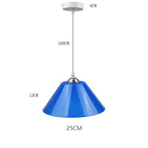 Image 2 - Modern Pendant Lights Kitchen Fixtures Plastic PVC Lampshade Dinning Room Pendant Lamp Home Lighting Decor Supermarket Luminaire
