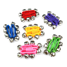 2Pcs Newborn Baby Rattle Toys Jingle Hand Bell Wrist Bracelet Developmental Toys For Kids Toddlers 0 6 12 13 24 Months