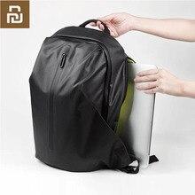 Youpin 90fun todo o tempo funcional mochila moda saco impermeável viagem faculdade escola bussiness, preto/laranja/azul h20 #0