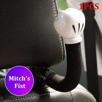 Hak do siedzenia samochodu cartoon śliczne tylne siedzenie samochodu kreatywne przechowywanie ukryty mały hak do zawieszania w samochodzie tanie i dobre opinie CN (pochodzenie) półki 200g Car seat back hook