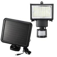 Solar Powered LED Floodlight Spotlight Projector Lamp Infrared Motion Sensor Security Light Lamp PIR Garden Outdoor Lighting