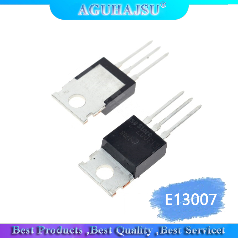 5PCS/Lot Brand New Transistor E13007 E13007-2 MJE13007 e13007 Triode TO-220 Wholesale Electronic <font><b>13007</b></font> image