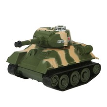 RC Power Mini Radio Tank Model Remote Control Battle Tank Toy Kids Children Teen Christmas Gift(China)