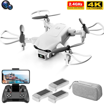 V9 RC Mini Drone 4k Dual Camera HD Wide Angle Camera 1080P WIFI FPV Aerial Photography Helicopter Foldable Quadcopter Dron Toys 1