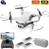 Mini Dron 4k de radiocontrol V9, cámara Dual HD gran angular, 1080P, WIFI, FPV, fotografía aérea, helicóptero, Quadcopter plegable, Juguetes