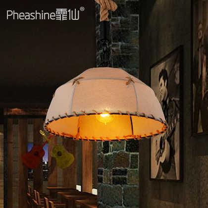 Nórdico retro nostálgico pasillo balcón mastodón sombra lámpara americano restaurante bar candelabro