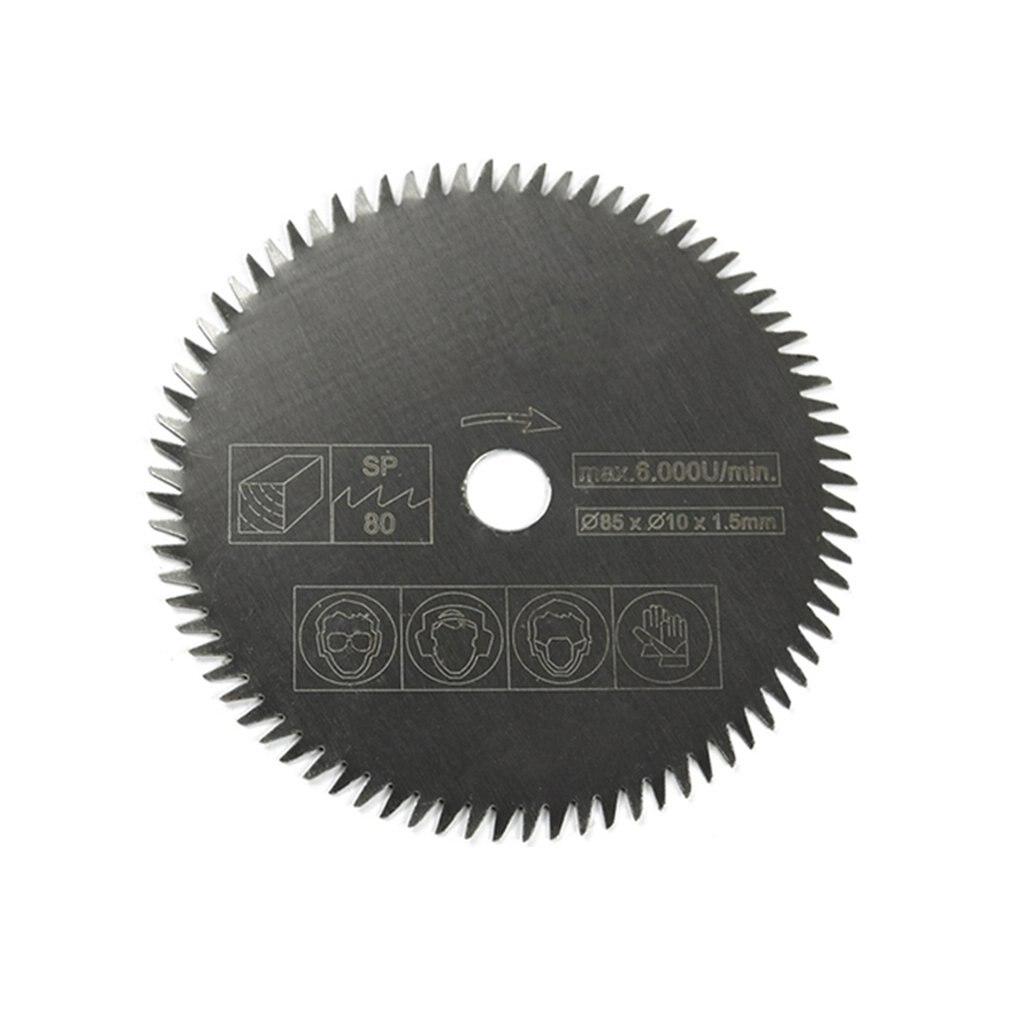 36/24 Teeth TCT Circular Saw Blade Wheel Discs TCT Alloy Woodworking Multifunctional Saw Blade For Wood Metal Cutting 85x15MM