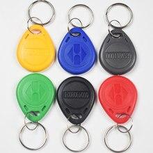10 EM4100 TK4100 Pçs/lote 125khz RFID Berloques Chave Tags Os Keyfobs Token Chaveiro ID Somente Leitura de Cartão RFID Cartão de Controle de Acesso
