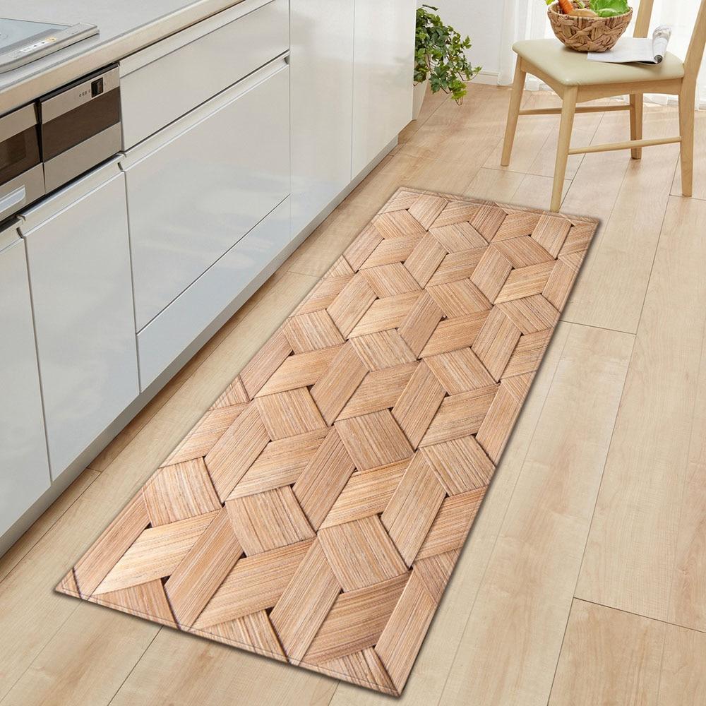 Kitchen Floor Mat Microfiber Carpet