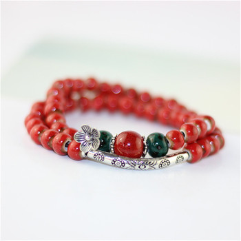 Simple vintage women's bracelets charms ceramic bracelet and bangles fashion accessory free shipping