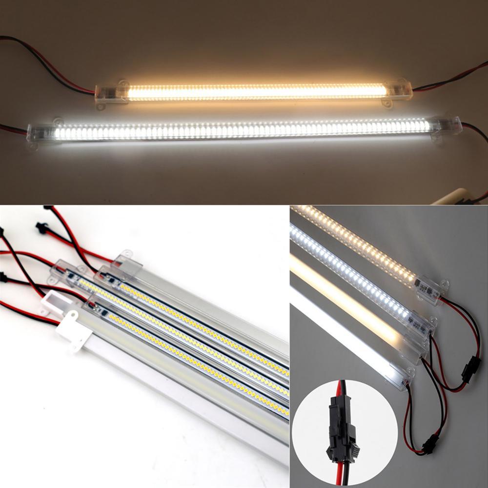 LED Rigid Light Strip High Brightness 30cm/40cm SMD 220V LED Fluorescent Floodlight Tube Bar Industries Showcase Display Lamp