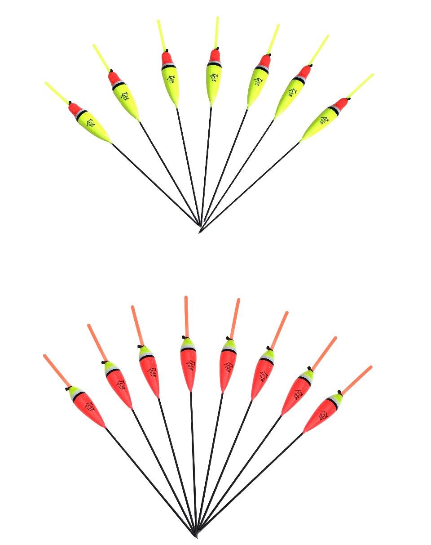 1g-5g Bobber Luz Vara de Pesca Flutuadores