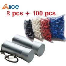 (100 + 2) pces + custo de envio gratuito, diâmetro 4-8mm segurança tag euro gancho slot/loja de exibição gancho/euroslot stoplock anti roubo