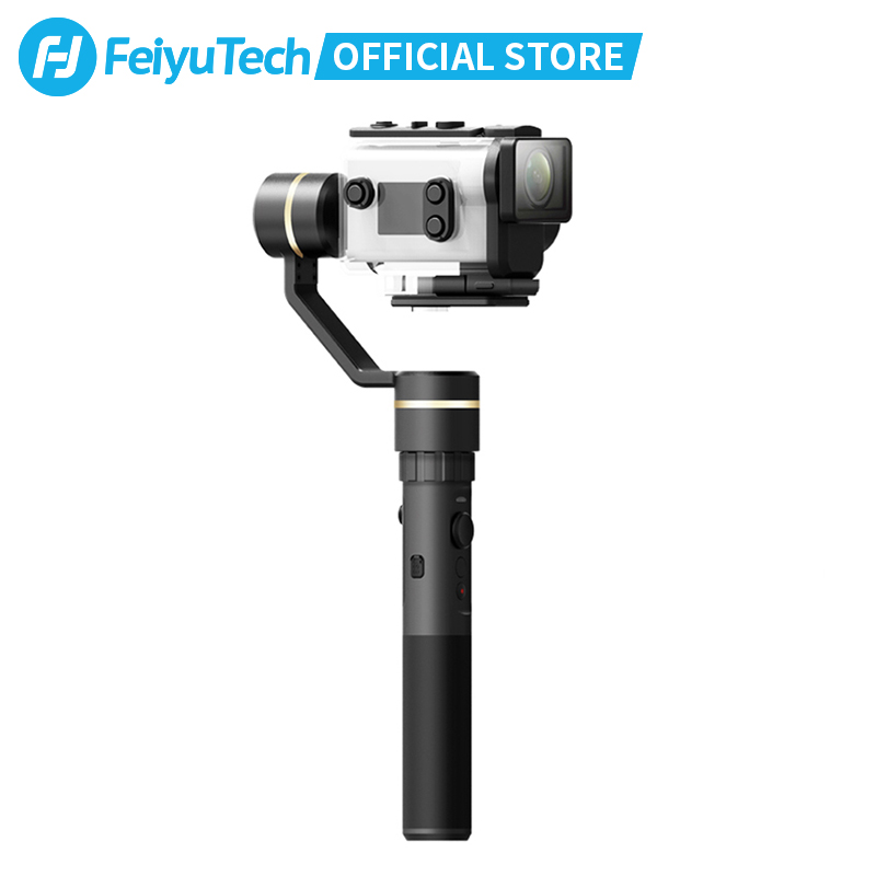 FeiyuTech G5GS Action Camera Gimbal Splash Proof Handle Stabilizer Unlimited Tilting Angle for Sony X3000 X3000R AS50 AS50R - ANKUX Tech Co., Ltd