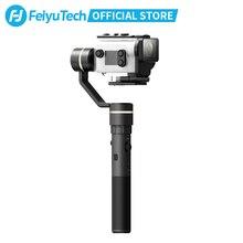 Feiyutech g5gs câmera de ação cardan à prova respingo lidar com estabilizador ilimitado ângulo inclinação para sony x3000 x3000r as50 as50r