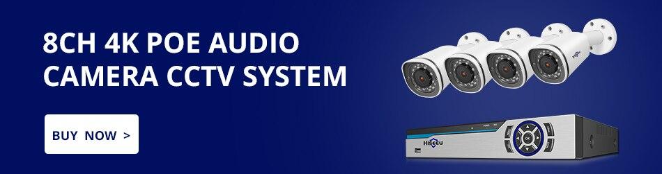 Hd04480be71db449caa1ab0a8c62c6342n Hiseeu H.265 8CH 4MP POE Security Camera System Kit Audio Record IP Camera IR Outdoor Waterproof CCTV Video Surveillance NVR Set