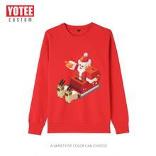 Yotee Рождественская одежда для пар зимние свитшоты мужчин и