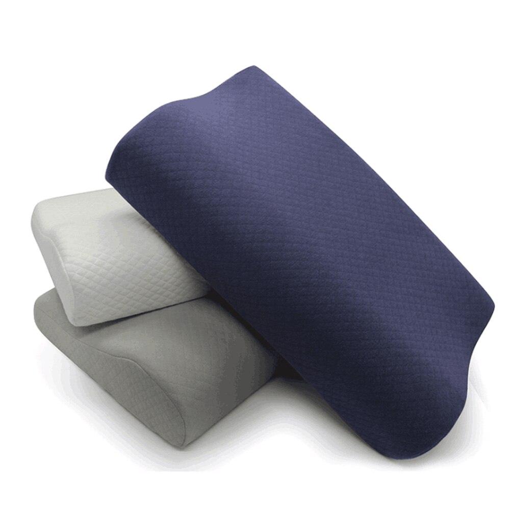 SB Спящая Подушка с эффектом памяти, эргономичная подушка для шейного отдела, удобная подушка для защиты шеи, Подушка для сна и дыхания|Подушки на кровать|   | АлиЭкспресс