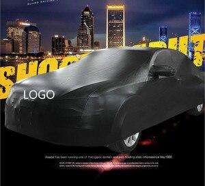 Подгонянный уличный автомобильный водонепроницаемый чехол для автомобиля PU эластичный пыленепроницаемый авто защита поверхности бесплат...