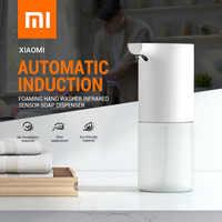 Dispensador infrarrojo de jabón espumante con Sensor de inducción automático de Xiaomi, limpiador de manos con espuma IPX4, dispensadores de jabón para baño/Cocina