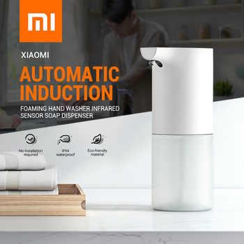 Distributeur de savon moussant à capteur d'induction automatique Xiaomi lave-mains moussant infrarouge distributeurs de savon IPX4 pour salle de bain/cuisine