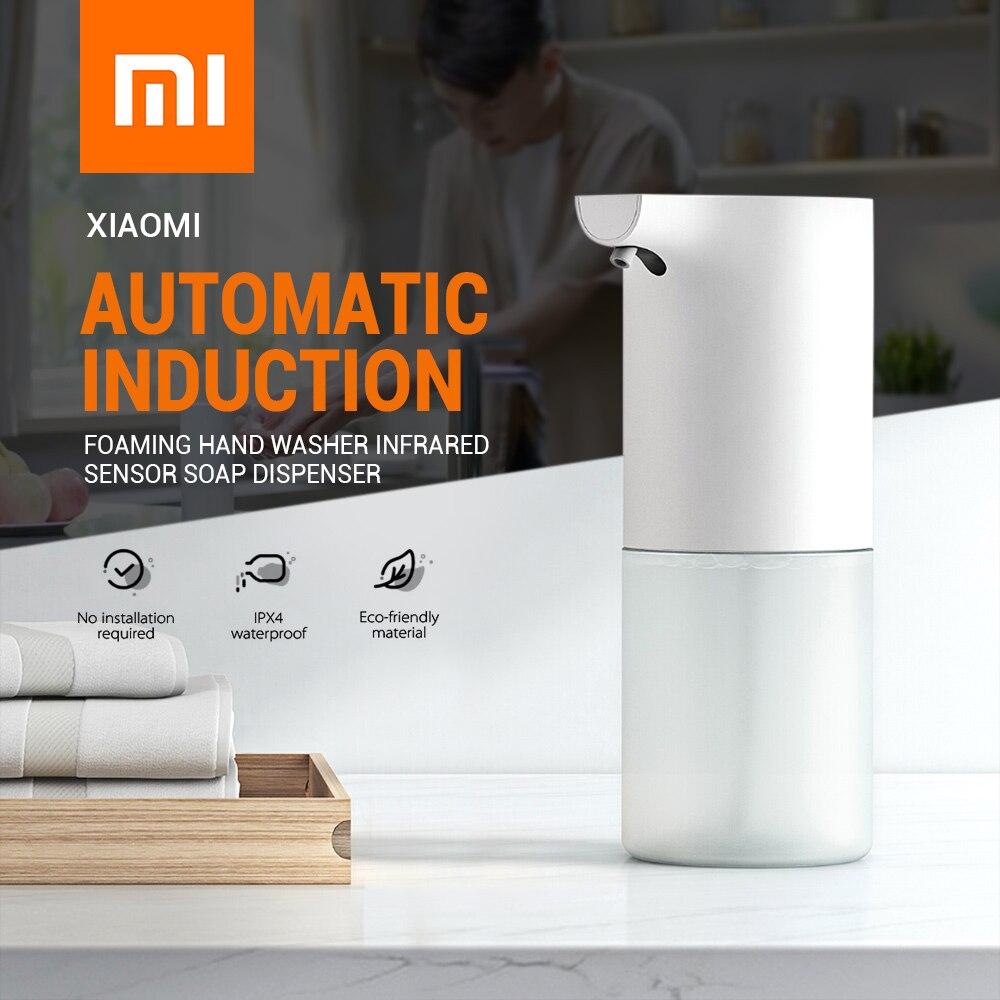 Xiaomi Automatische Induktion Sensor Schäumen Seife Dispenser Infrarot Schäumen Hand Washer IPX4 Seife Spender Für Bad/Küche