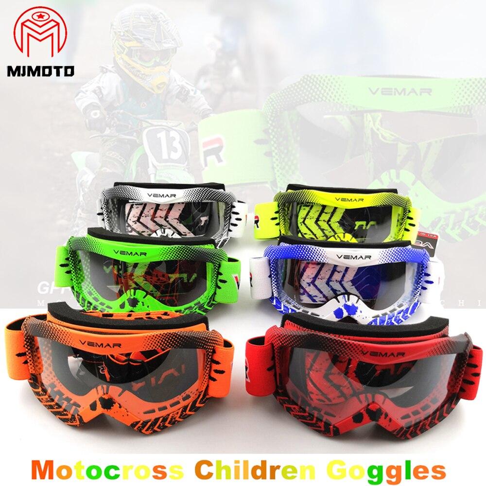 Брендовые детские велосипедные очки VEMAR, очки для мотокросса, шлем, очки, мотоциклетные очки, Детские/Детские очки