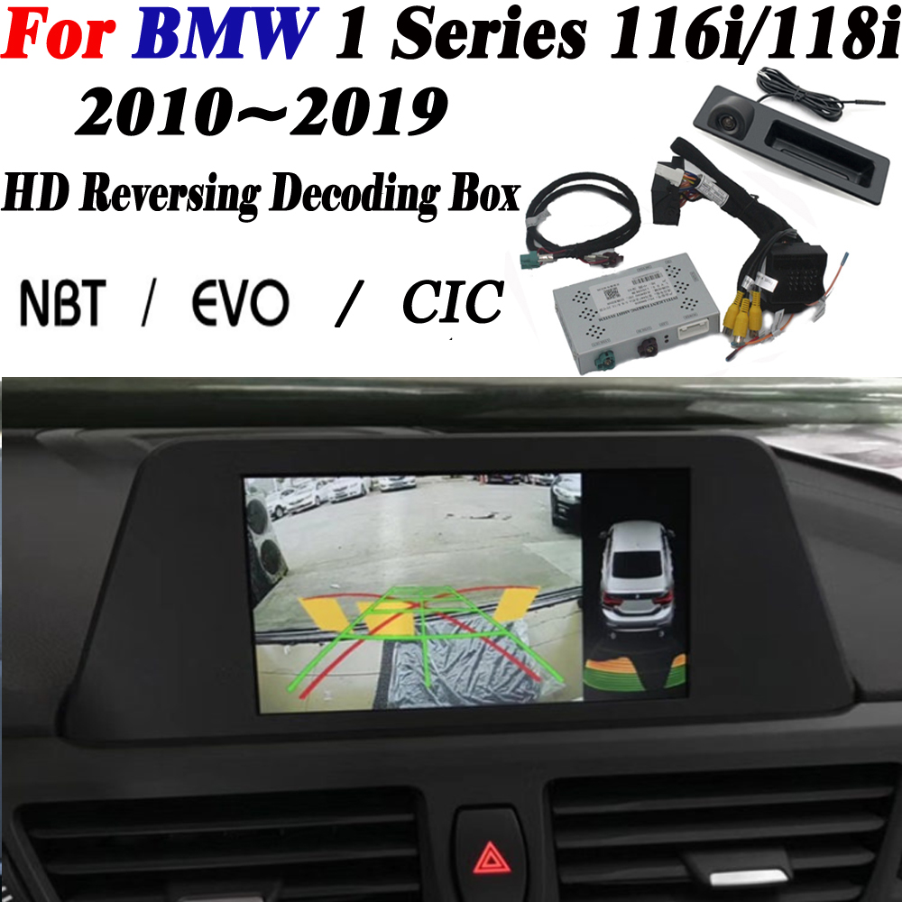 For BMW 1 Series (F20) 116i/118i 2010~2019 Interface Adapter Display Improve Front Rear Camera Backup Parking Camera Decoder