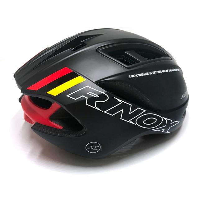 Rnox ciclismo capacete velocidade de corrida pneumático capacetes da bicicleta estrada para homens feminino tt tempo triathlon triathlon capacete da bicicleta casco ciclismo 4