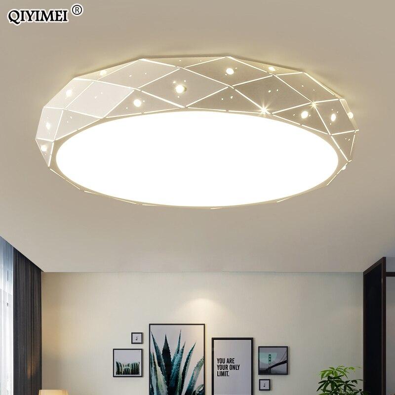 Żelazny żyrandol światła dla dzieci sypialnia salon możliwość przyciemniania za pomocą pilota zdalnego sterowania Luminaria oprawa AC85-260V wewnątrz oprawy oświetleniowe