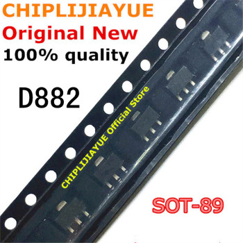 20PCS D882 SOT89 2SD882 SOT-89 30V/3A/30W 882 SMD New and Original IC Chipset - discount item  10% OFF Active Components