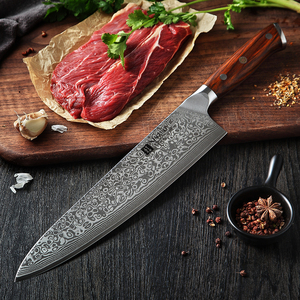 Image 5 - XINZUO 10 inch Chef Knife Japanese Damascus Steel Kitchen Knives Best Quality Professional Gyuto Knife For Hotel and Restaurant