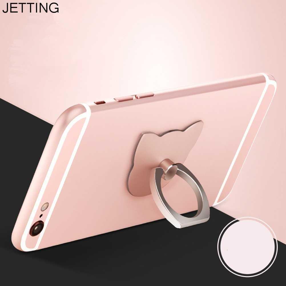 Đa Năng Kim Loại Gương Kim Loại Dành Cho Samsung Dành Cho iPhone 6 S Plus/7 NHẪN Điện Thoại Di Động Tay Chân Đế giá Đỡ Để Bàn Xe Ô Tô