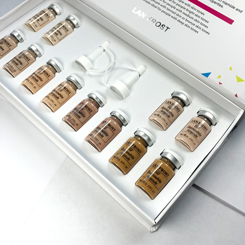 BB Cream Glow Meso White Brightening serum BB Cream foundation beauty salon BB serum Korean cosmetic makeup foundation serum set
