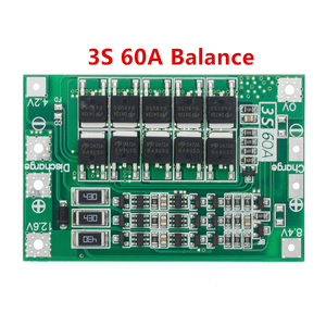 Image 4 - 3S/4S 40A 60A 리튬 이온 리튬 배터리 충전기 보호 보드 18650 BMS 드릴 모터 11.1V 12.6V/14.8V 16.8V 향상/균형