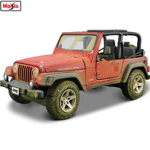 Maisto 1:24 Old Jeep Wrangler simulation alloy car model crafts decoration collection toy tools gift